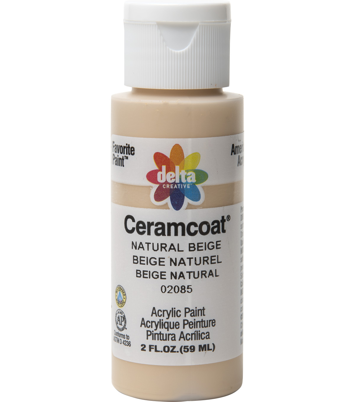 Delta Ceramcoat Acrylic Paint 2 oz, Ac Flesh