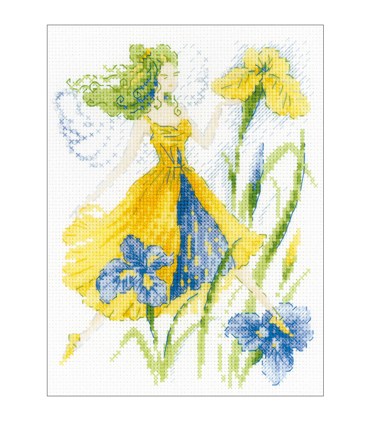 RIOLIS 6\u0027\u0027x7.75\u0027\u0027 Counted Cross Stitch Kit-Sunny Day Fairy