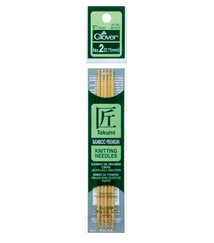 "55 needles!! 5/"" Double pointed Bamboo Knitting Needles"