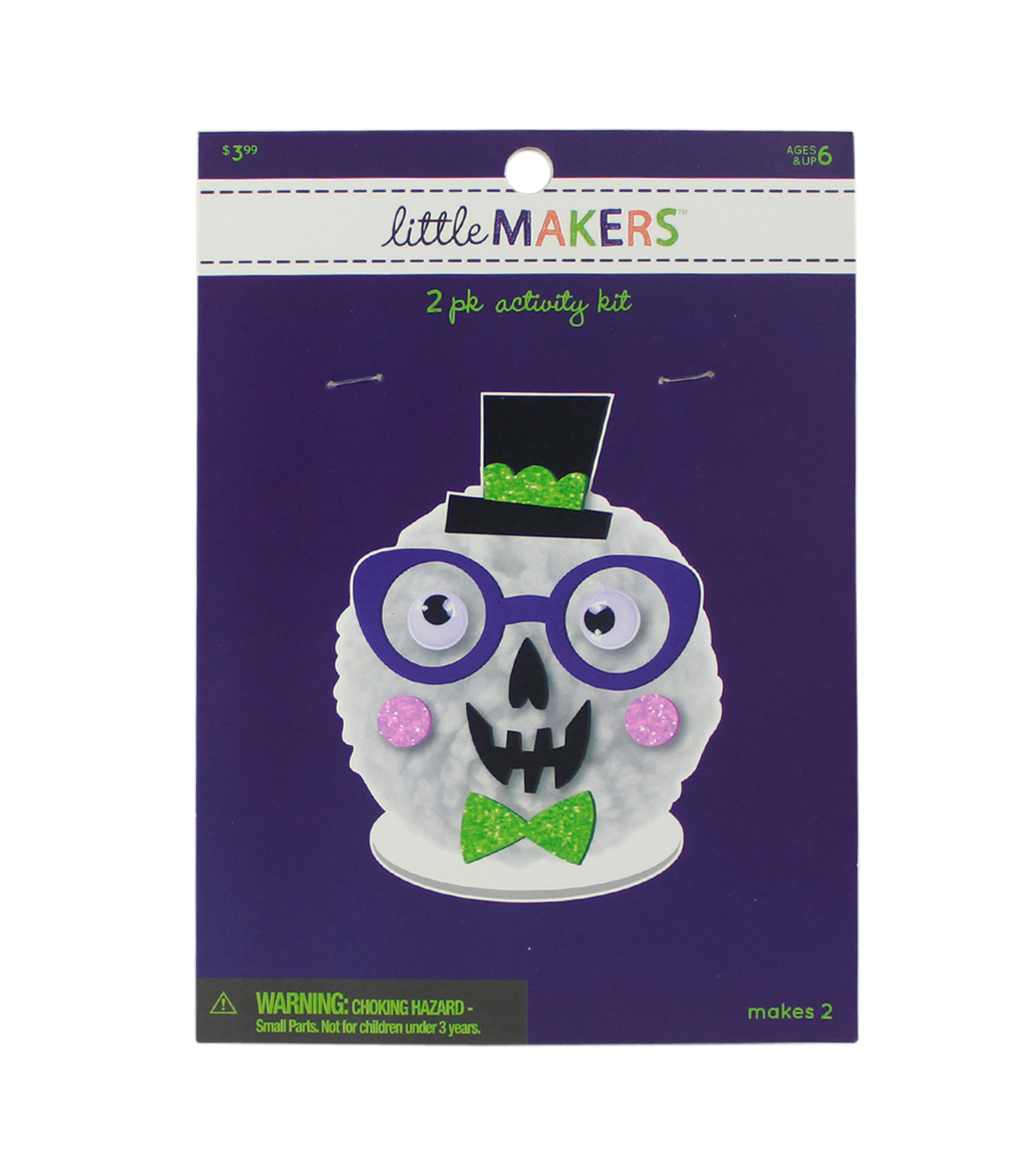 Little Makers Halloween Activity Kit-Skull