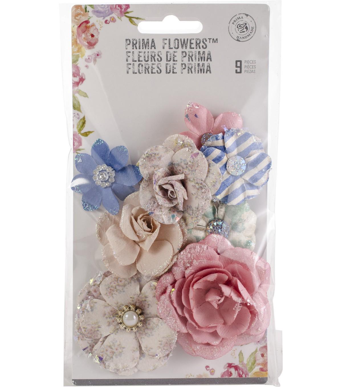 Santorini Mulberry Paper Flowers 9pk Fira Joann
