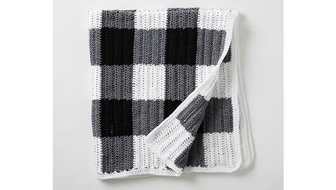 Buffalo Check Crochet