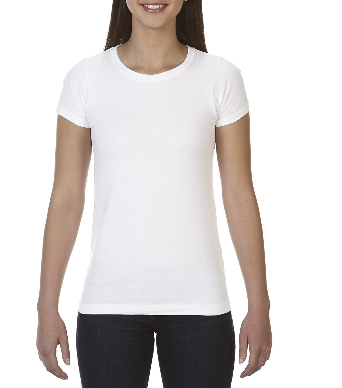 Comfort Colors Large Ladies T-Shirt, White