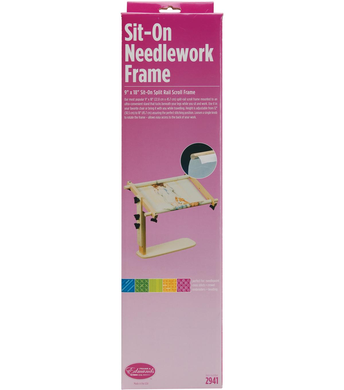 Edmunds Sit-On Needlework Frame-9\