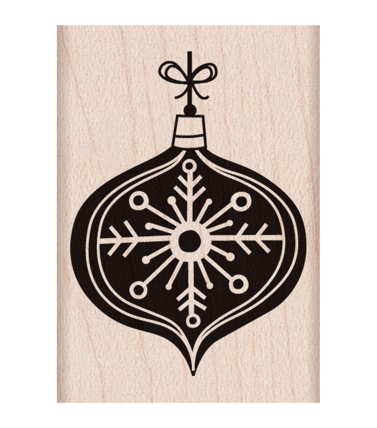 Hero Arts Wood Mounted Rubber Stamp-Chalkboard Ornament