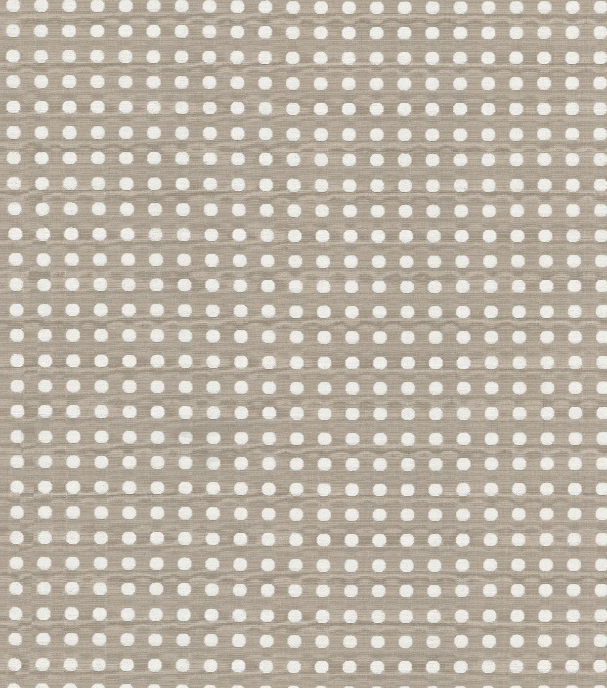 Home Decor 8\u0022x8\u0022 Swatch Fabric-Waverly Button Up Pewter
