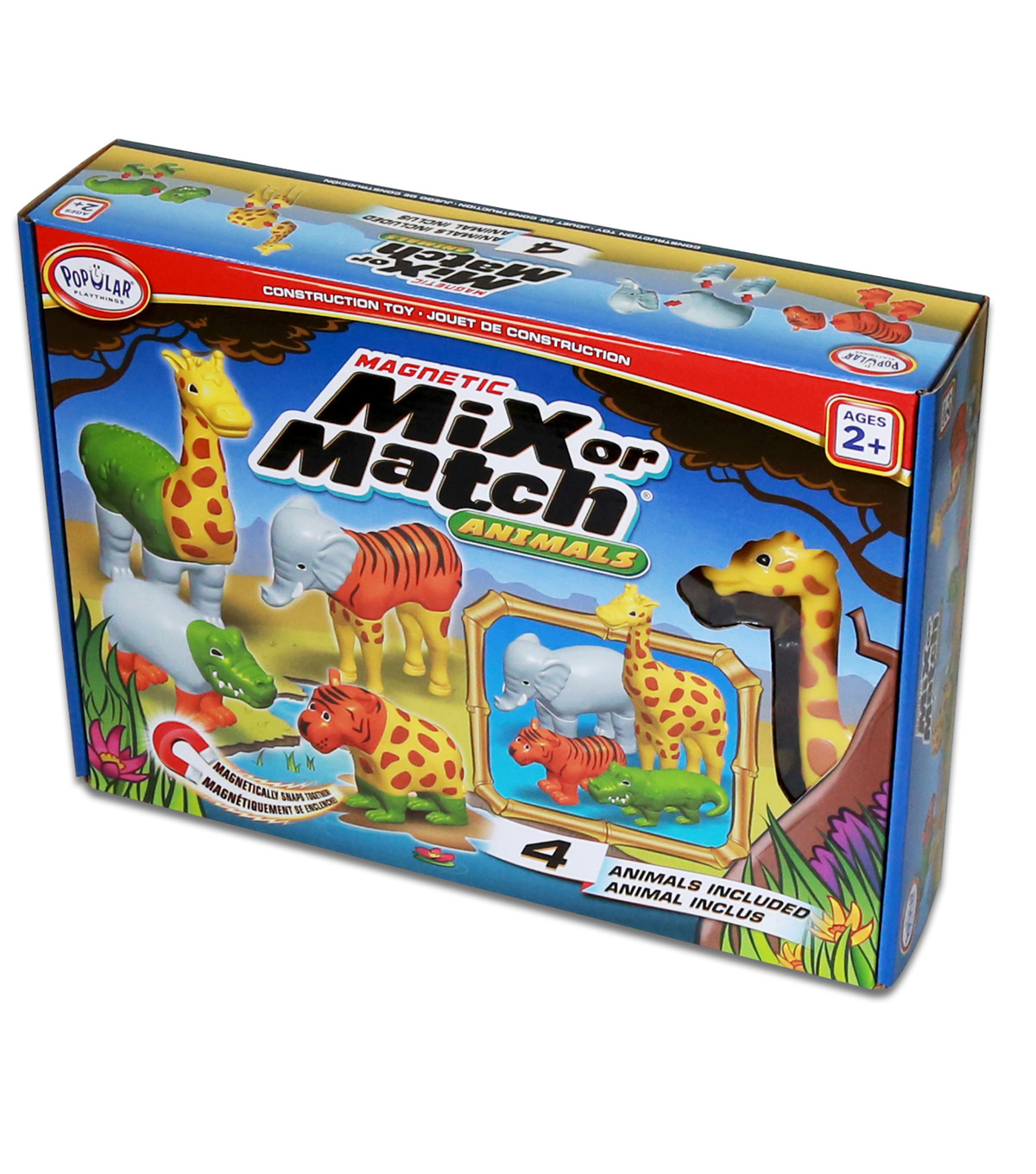 Magnetic Mix or Match Animals
