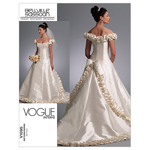 Vogue Patterns Misses Bridal-V1095