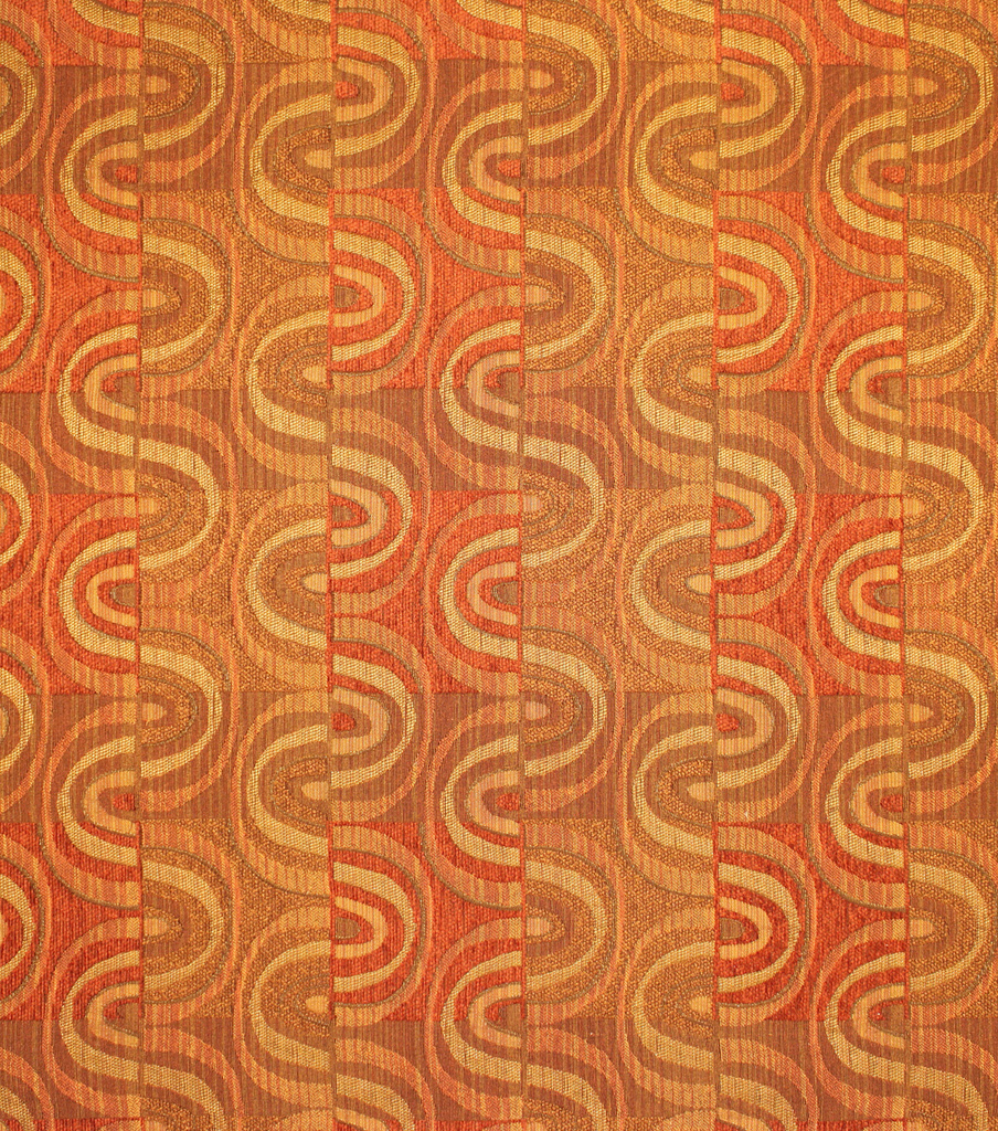 Home Decor 8\u0022x8\u0022 Fabric Swatch-Upholstery Fabric Barrow M8195-5193 Amber