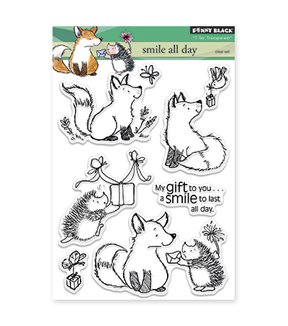 Penny Black Clear Stamps-Smile All Day