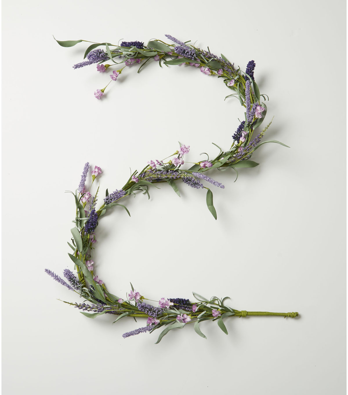 Fresh Picked Spring 66\u0027\u0027 Wildflower & Lavender Mixed Garland