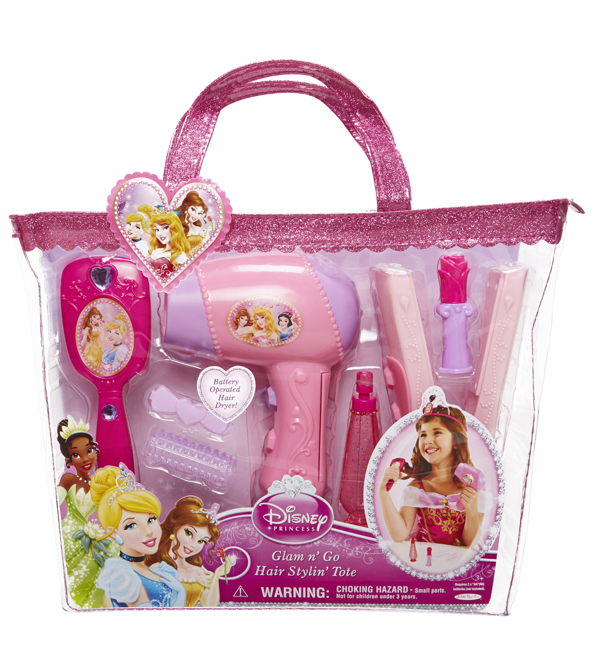 Disney Princess Glam Hair Styling Tote