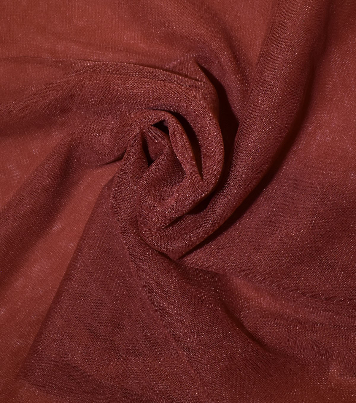 Casa Collection Solid Tulle Fabric 57\u0027\u0027, Chili Oil