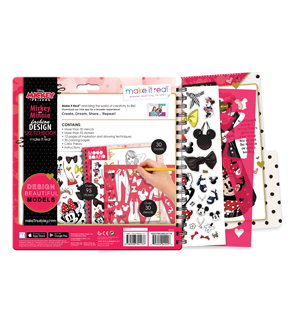 Make It Real Disney Mickey and Minnie Fashion Design Sketchbook