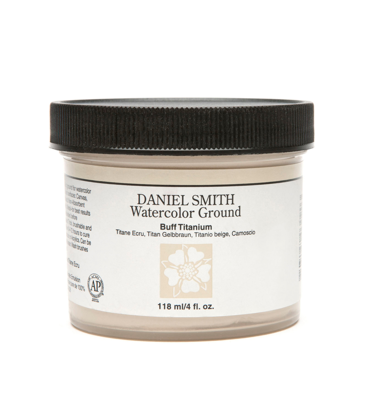 Daniel Smith 4 fl. oz. Watercolor Ground, White Titanium Buff