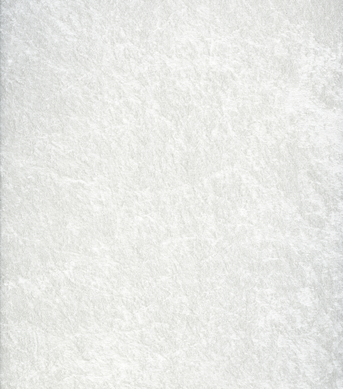 Glitterbug Crushed Panne Velvet Fabric, White