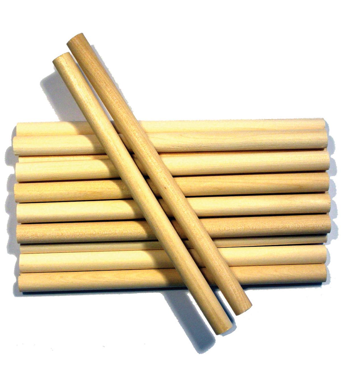 Wood Craft Dowels 3 8 X6 10 Pkg