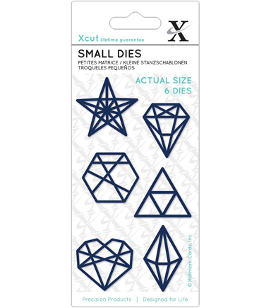 Xcut Small Dies-Geometric Shapes
