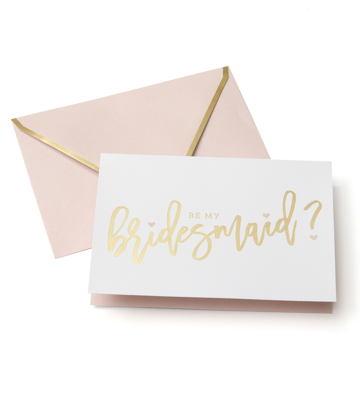 Save The Date Pack of 8 Cards-Blush Bridesmaid