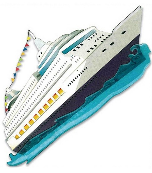Jolee\u0027s By You Stickers-Cruise Ship
