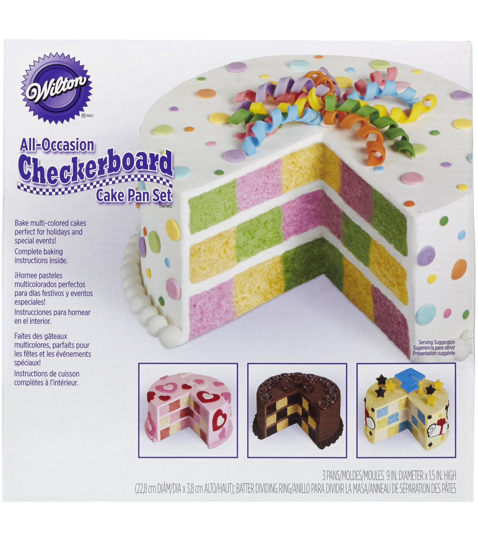 Wilton Checkerboard Cake Set Joann