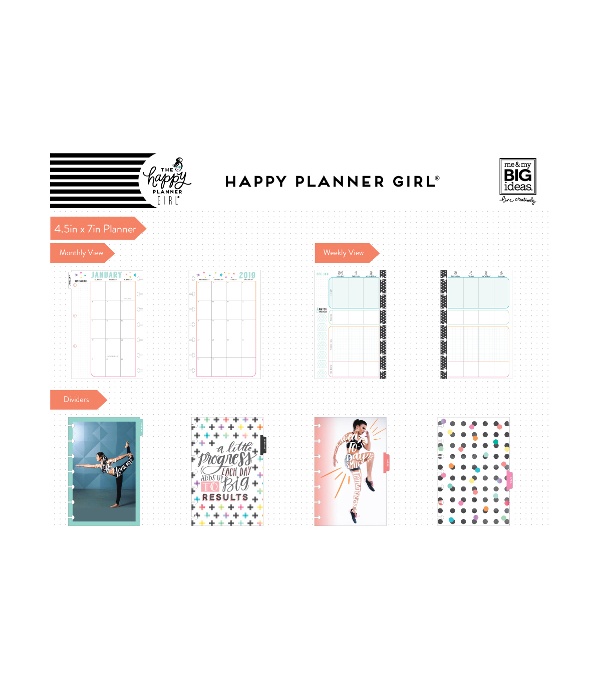The Happy Planner Girl Mini 12 Month Planner-Healthy Hero