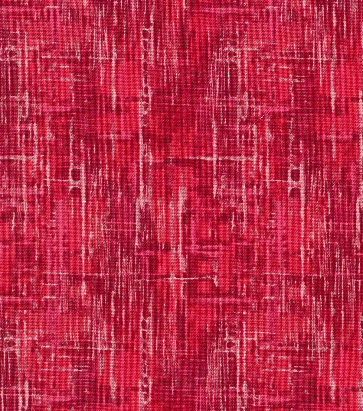 Keepsake Calico Cotton Fabric -Multi Red Blender