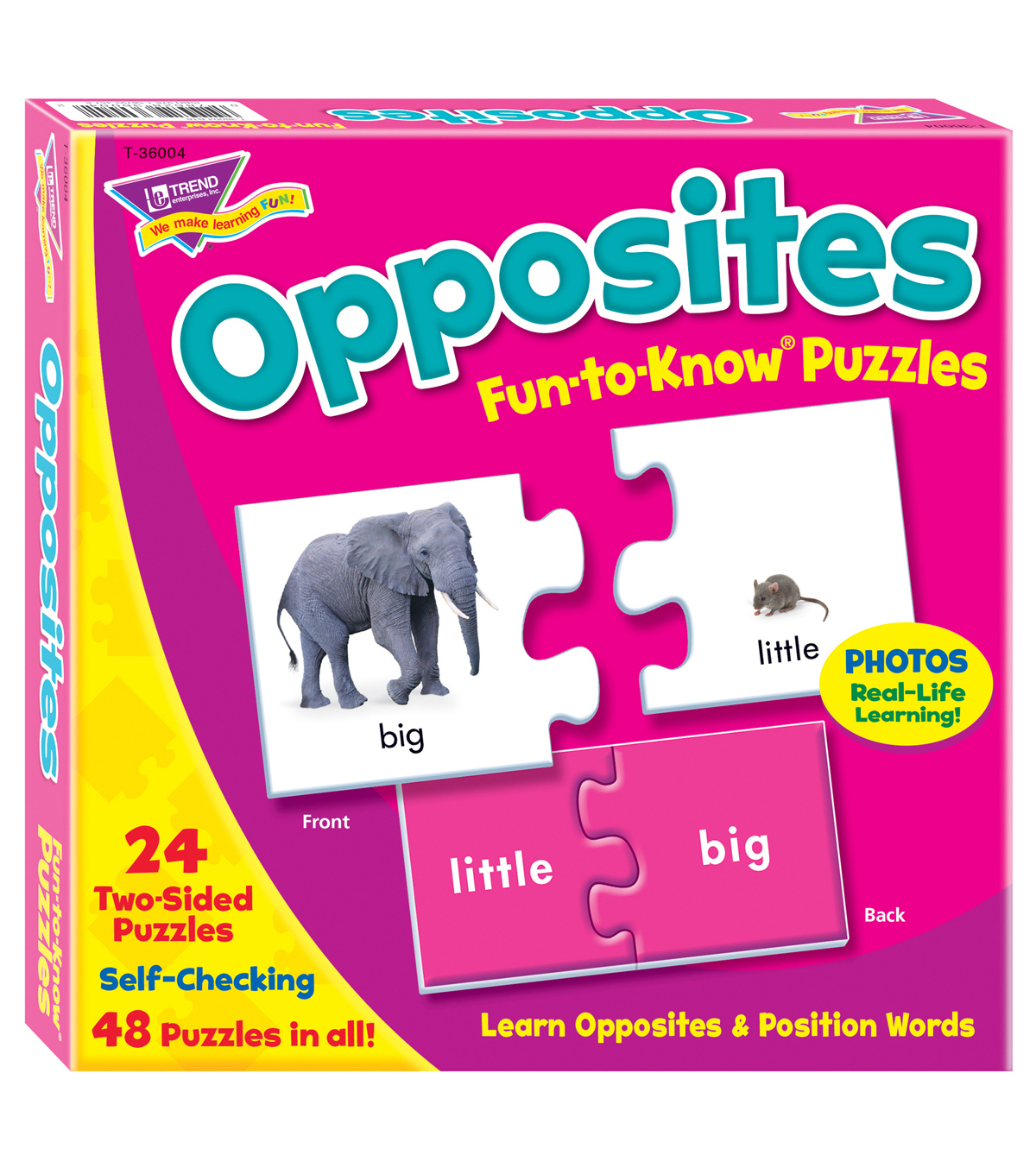 Puzzle Opposites, Set of 3pks
