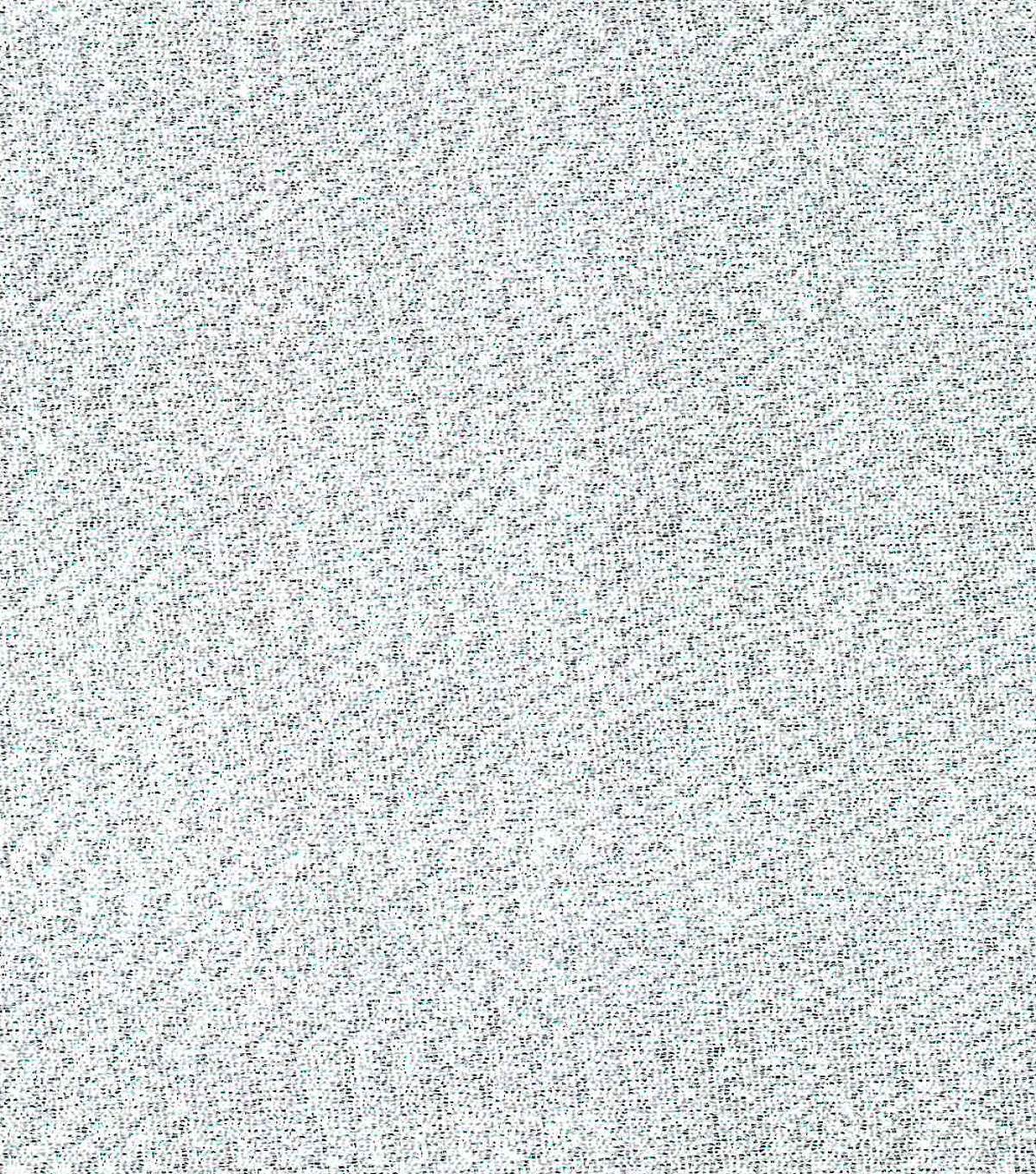 Metallics Crepe Fabric -Silver and White