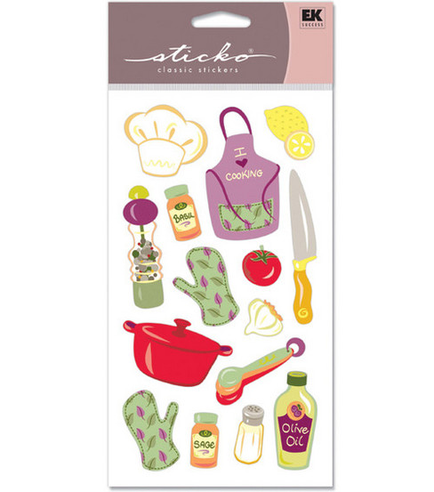 Sticko Classic Stickers-Cooking