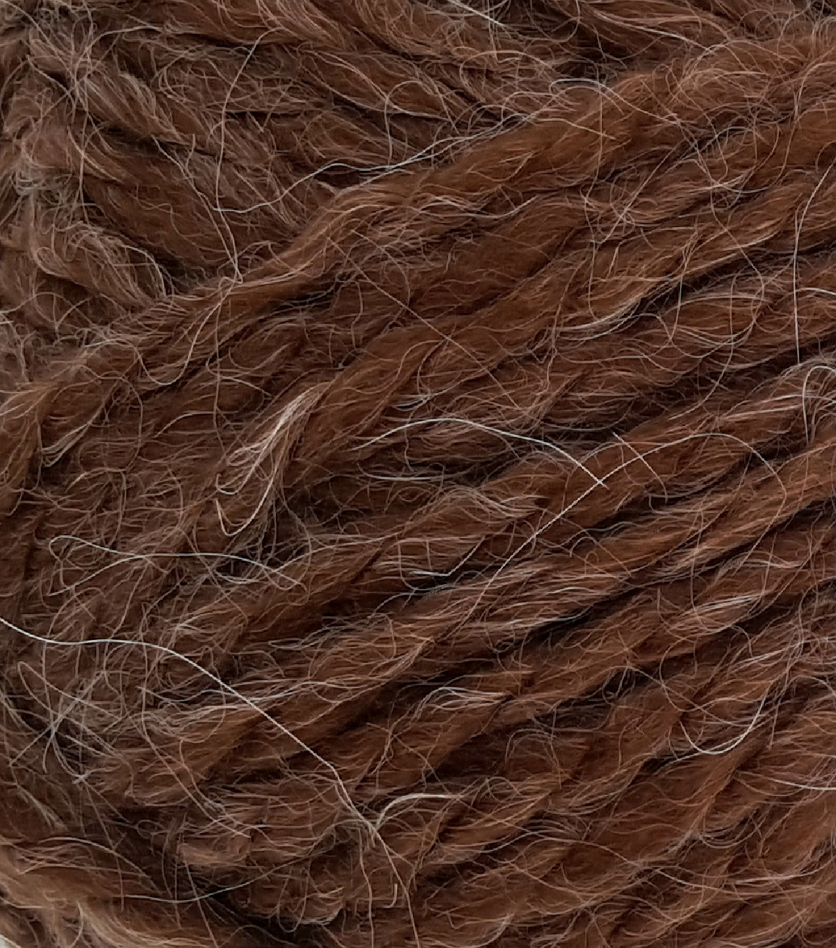 Buttercream Luxe Craft Alpaca Solids Yarn, Brown
