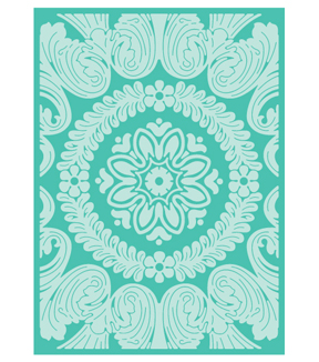 Cricut Cuttlebug Anna Griffin Ornate Medallion 5x7 Embossing Folder