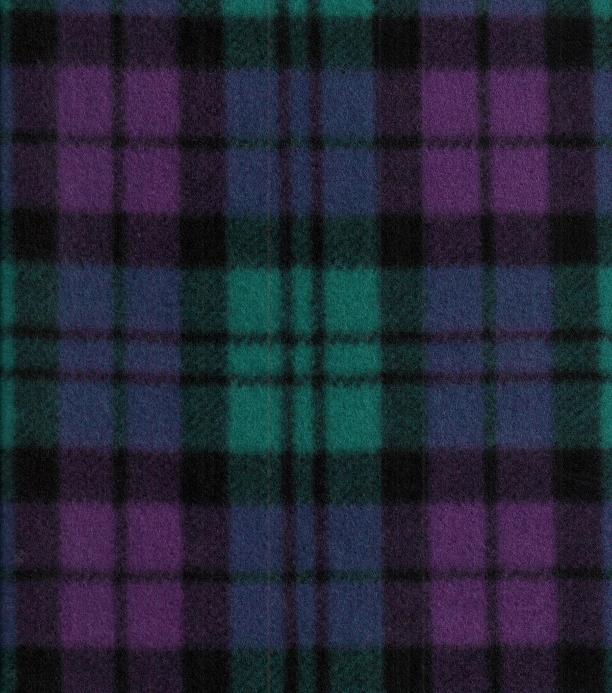Blizzard Fleece Fabric 58\u0027\u0027-Alyssa Plaid