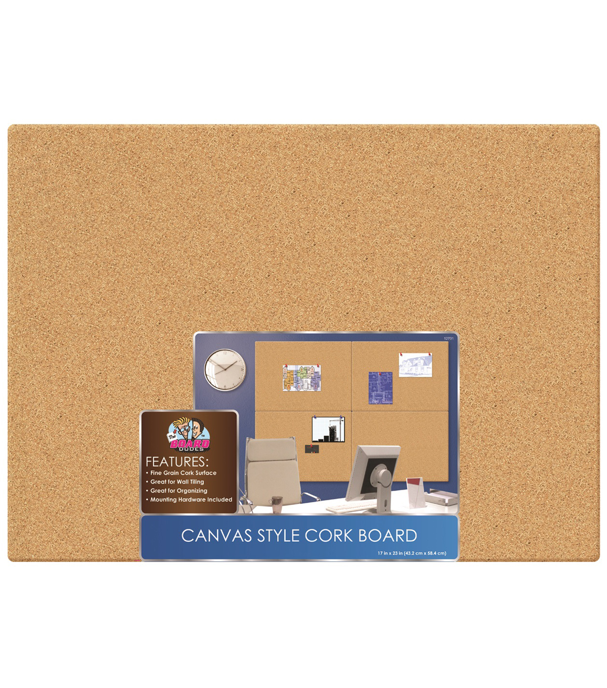 Unframed Cork Boards17inx23in