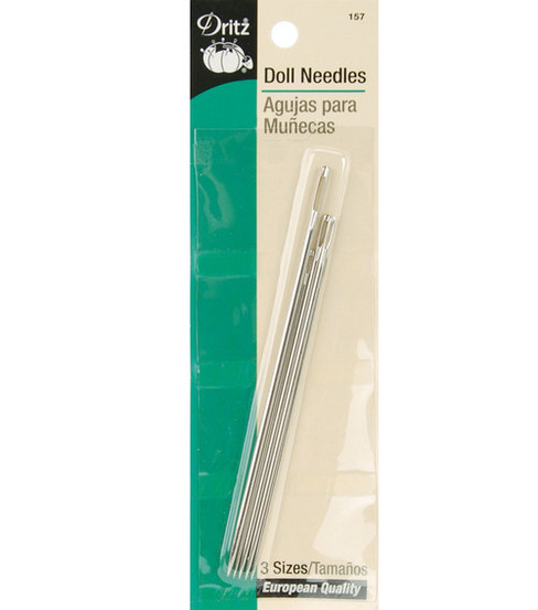 Dritz Doll Needles Assorted Sizes 5pcs