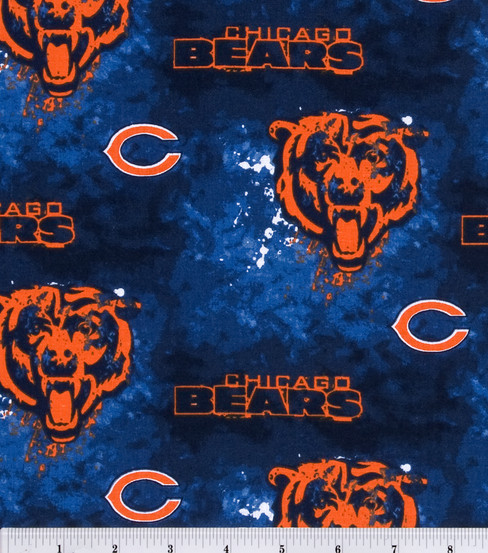 Chicago Bears Cotton Fabric 58\u0027\u0027-Mascot