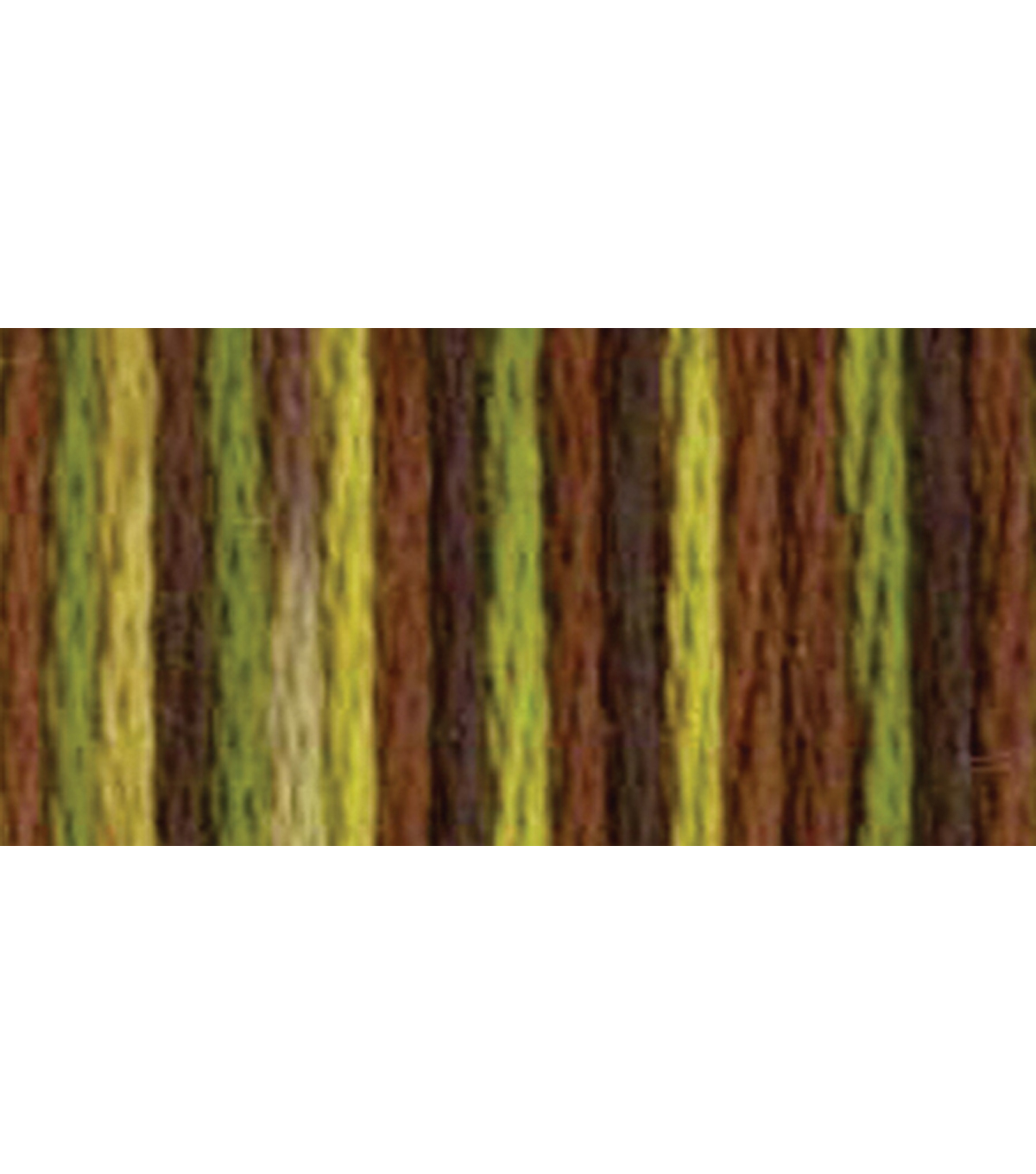 DMC Pearl Cotton Variation Thread 27 Yds Size 5, Camouflage