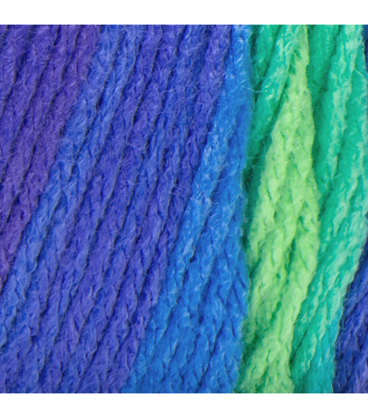 Red Heart Super Saver Stripes Yarn, Parrot Stripe