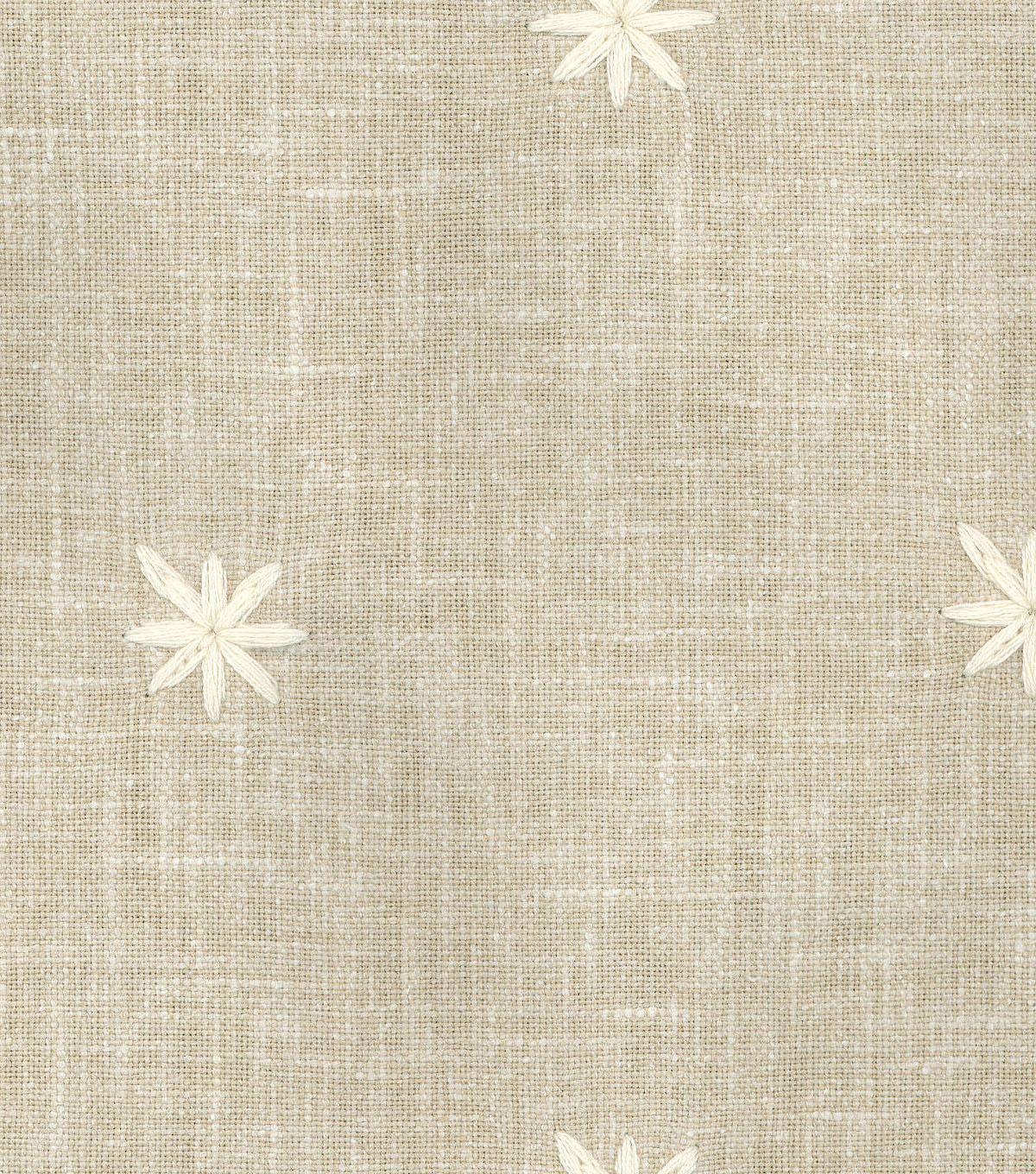 Ellen DeGeneres Multi-Purpose Décor Fabric 54\u0027\u0027-Parchment Sunset Embroidery