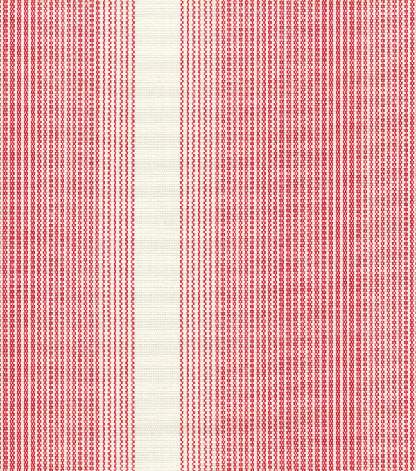 Waverly Upholstery 8x8 Fabric Swatch-Big Wig Stripe/Poppy