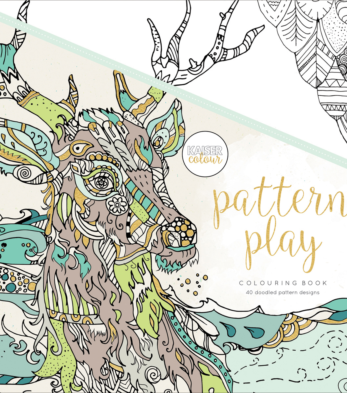 Pttrn Play-kaiser Coloring Book