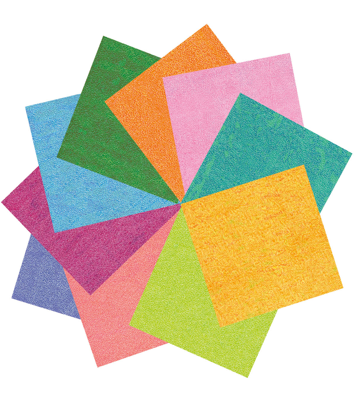 Black Ink 40 Pk 6x6 Origami Papers Iridescent Joann