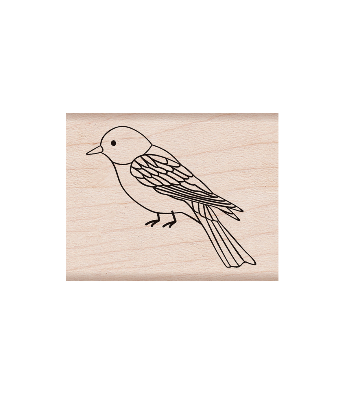 Hero Arts Wood Mounted Rubber Stamp-Illustrated Bird
