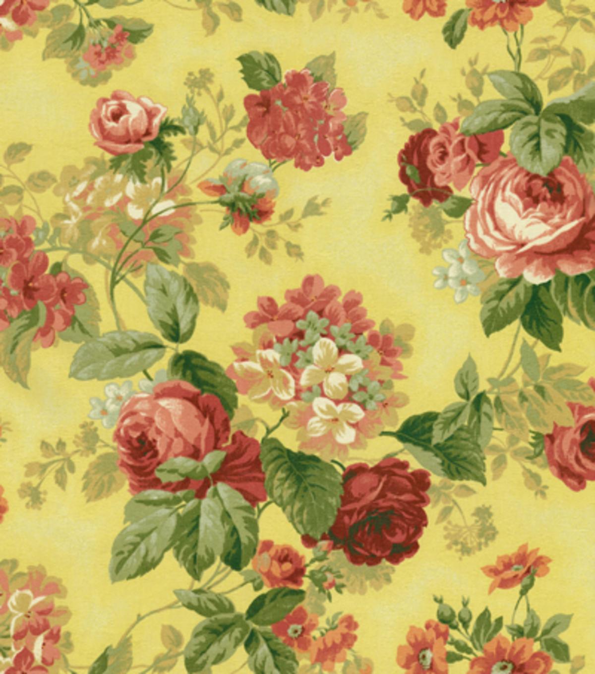 Lightweight Decor Fabric Julia Yellow Joann