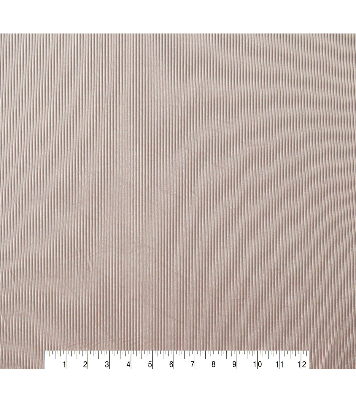 Ribbed Velvet Knit Fabric -Cosmetic