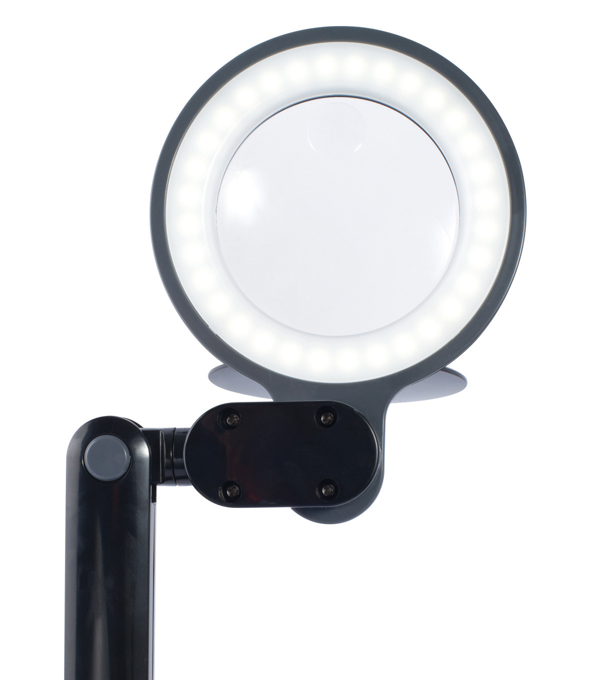 Saving Lamp Desk Magnifier Space Black Ottlite Led 8nwPX0Ok