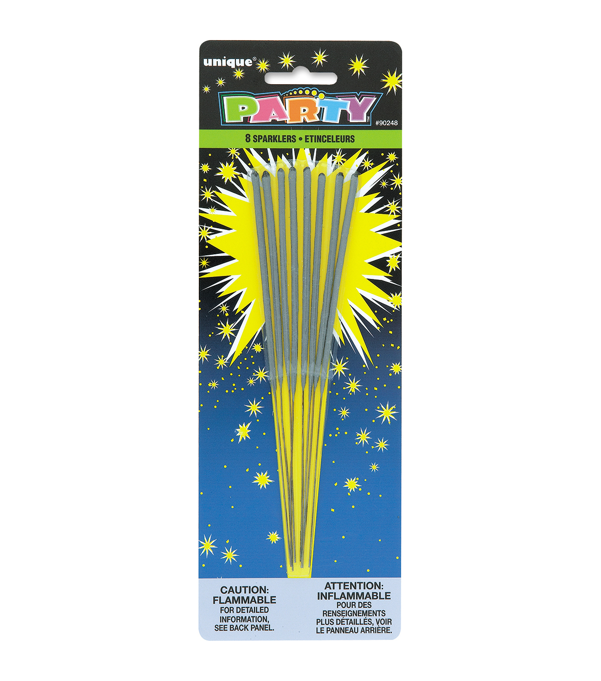 Party Favors 8/Pkg-Sparklers 7\u0022