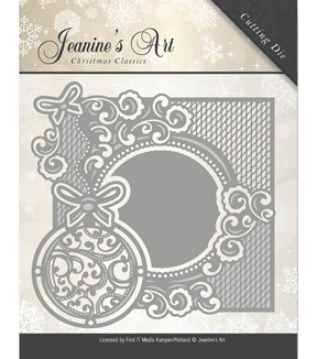 Find It Trading Jeanine\u0027s Art Christmas Classics Die-Ornament Frame