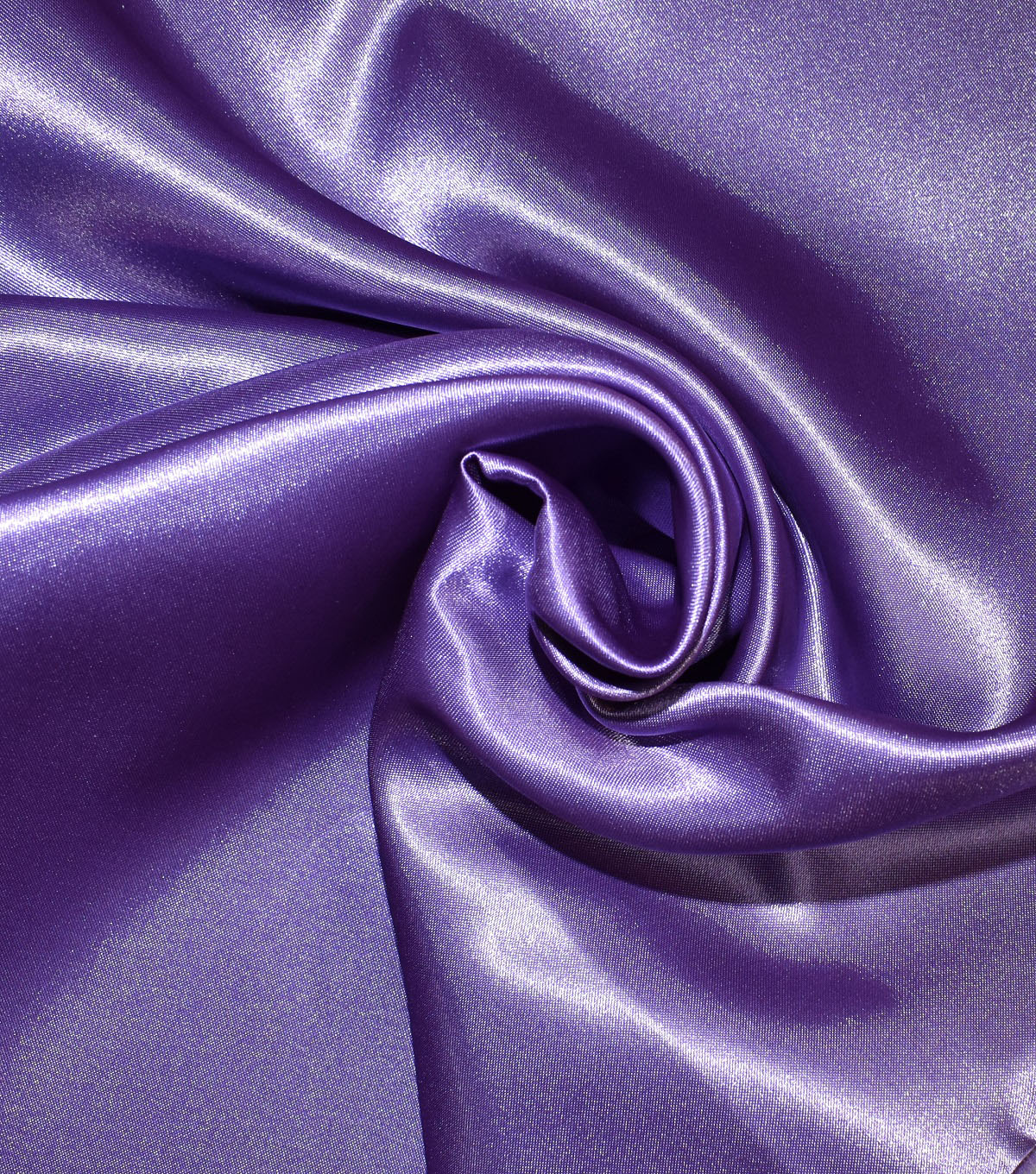 Casa Collection Shiny Satin Fabric, Orchid Mist