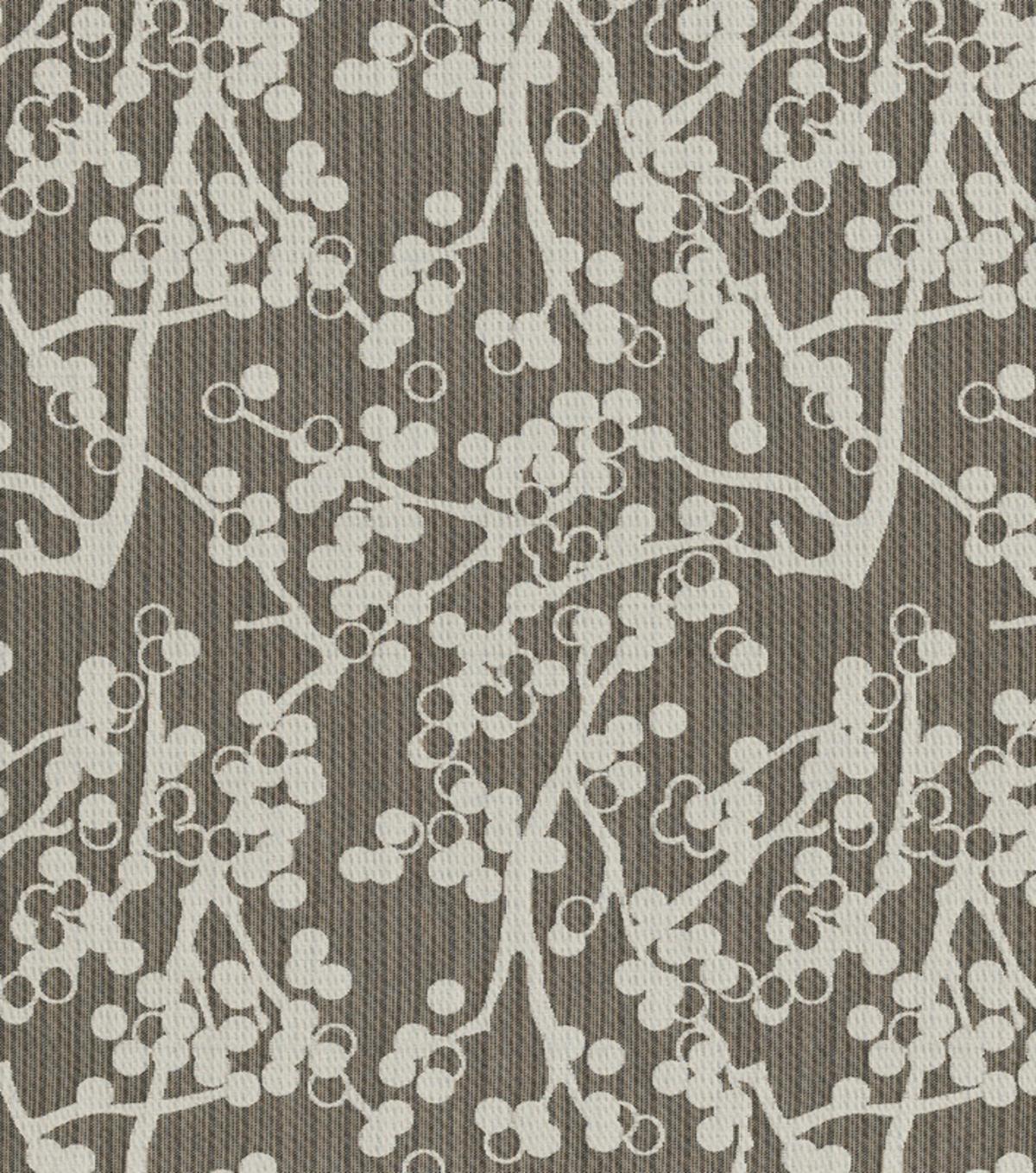 Crypton Upholstery Fabric 54\u0022-Cherries-Charcoal